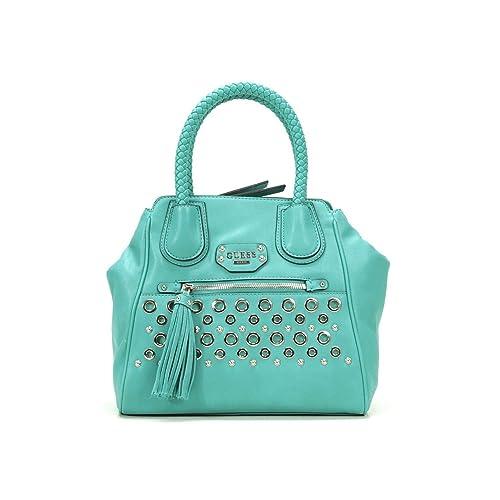 Guess - Bolso estilo cartera para mujer verde verde: Amazon.es: Zapatos y complementos