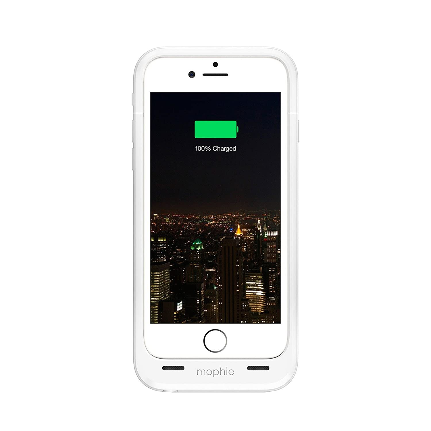 de38e22cb6e60f Amazon.com: Mophie Juice Pack Plus - Protective Mobile Battery Pack Case  for iPhone 6/6s – White (Renewed): Cell Phones & Accessories