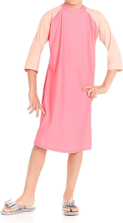 Pink Mint Kids Swim Dress