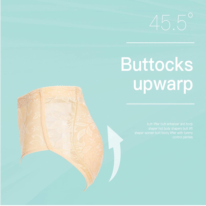 Queenral Womens Briefs Butt Lifter Butt Enhancer Hip Padded Slim Control Pants