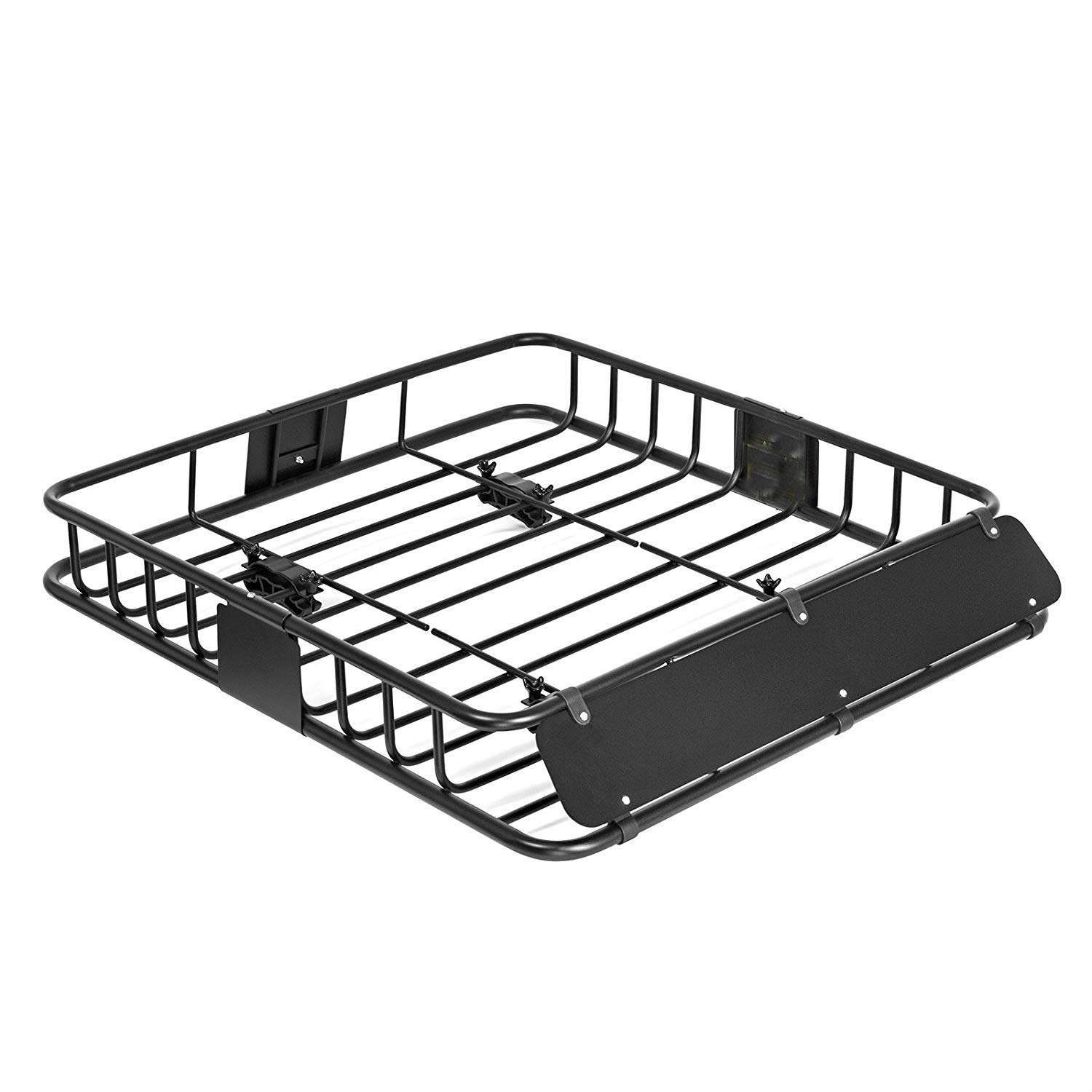 Universal Black Roof Rack Cargo Carrier roof rack Basket for Sedan SUV (43') ROKIOTOEX