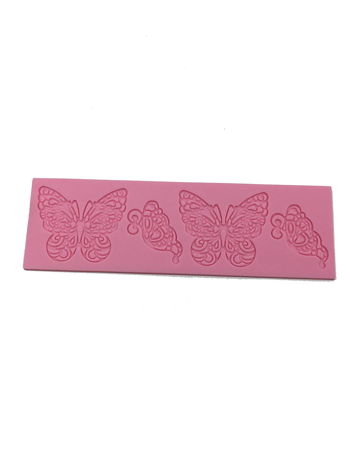 Butterfly Shape Silicone Mold Lace Cake Molds Fondant Tools Cake Decorating Tools Silicone Chocolate Icing Border Sugar Mold XXWG #FF25