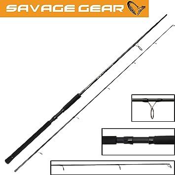 Savage Gear centrifugado y Twitch cañas para Spinning Talla:6ft ...