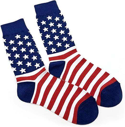 DONALD Crew Socks USA FlAG Cotton TRUMP Election Novelty Republican 2020 Great