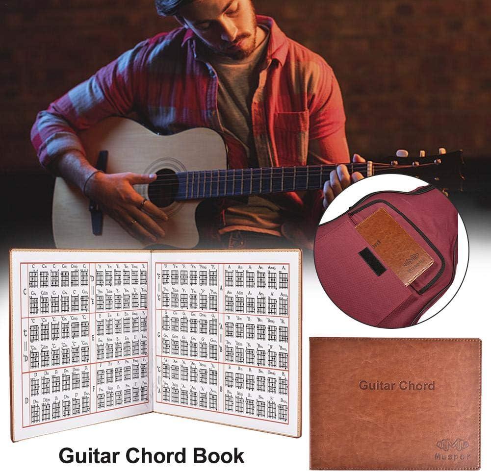 Bloomma Acordes de Guitarra eléctricos portátiles para Libros de ...