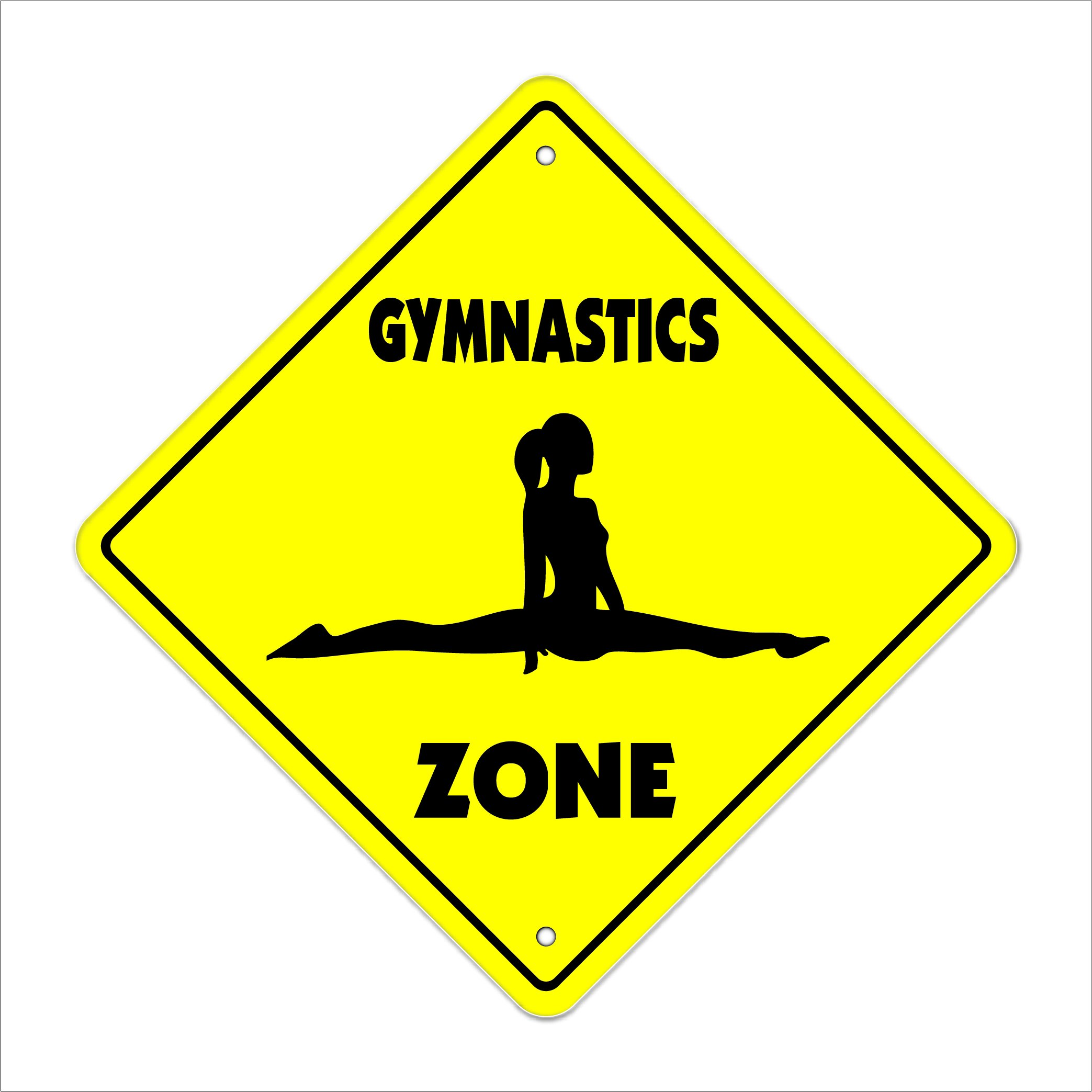 Amazon Com Custom Gymnastics Name Wall Decals Girls