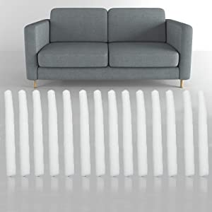 Non Slip Foam Grips for Couch Slipcovers, Stretch Sofa Slipcover Foam Grips Sofa Grips Antislip, Slipcover Foam Sticks for Couch Slipcovers, Furniture Protector (14 Pcs) (1)