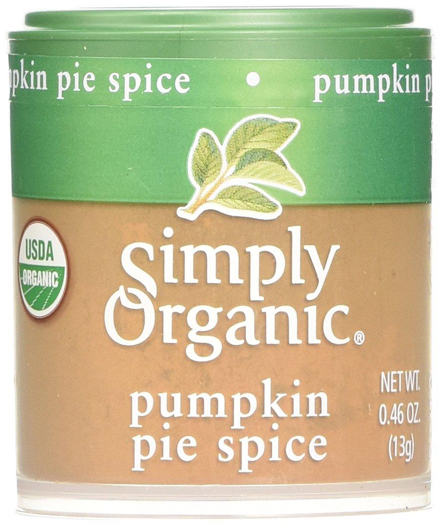 Simply Organic Mini, Og, Pumkin Pie Spice, 0.46-Ounce (Pack of 6)