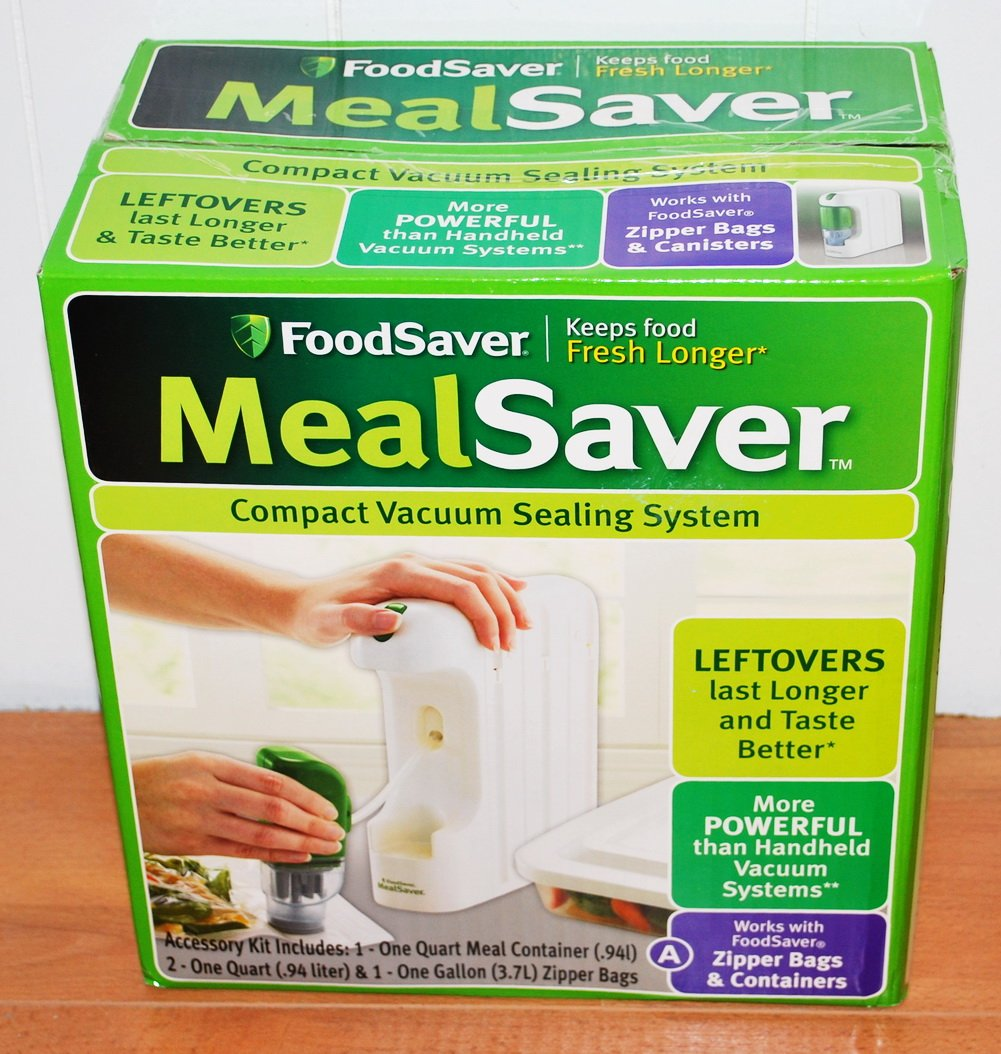 Mealsaver Compact Vacuum Sealing System (White)