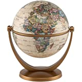 """Waypoint Geographic GyroGlobe 4"""" Classic Oceans - UP-TO-DATE Compact Mini Globe Swivels in All Directions - Perfect for…"""