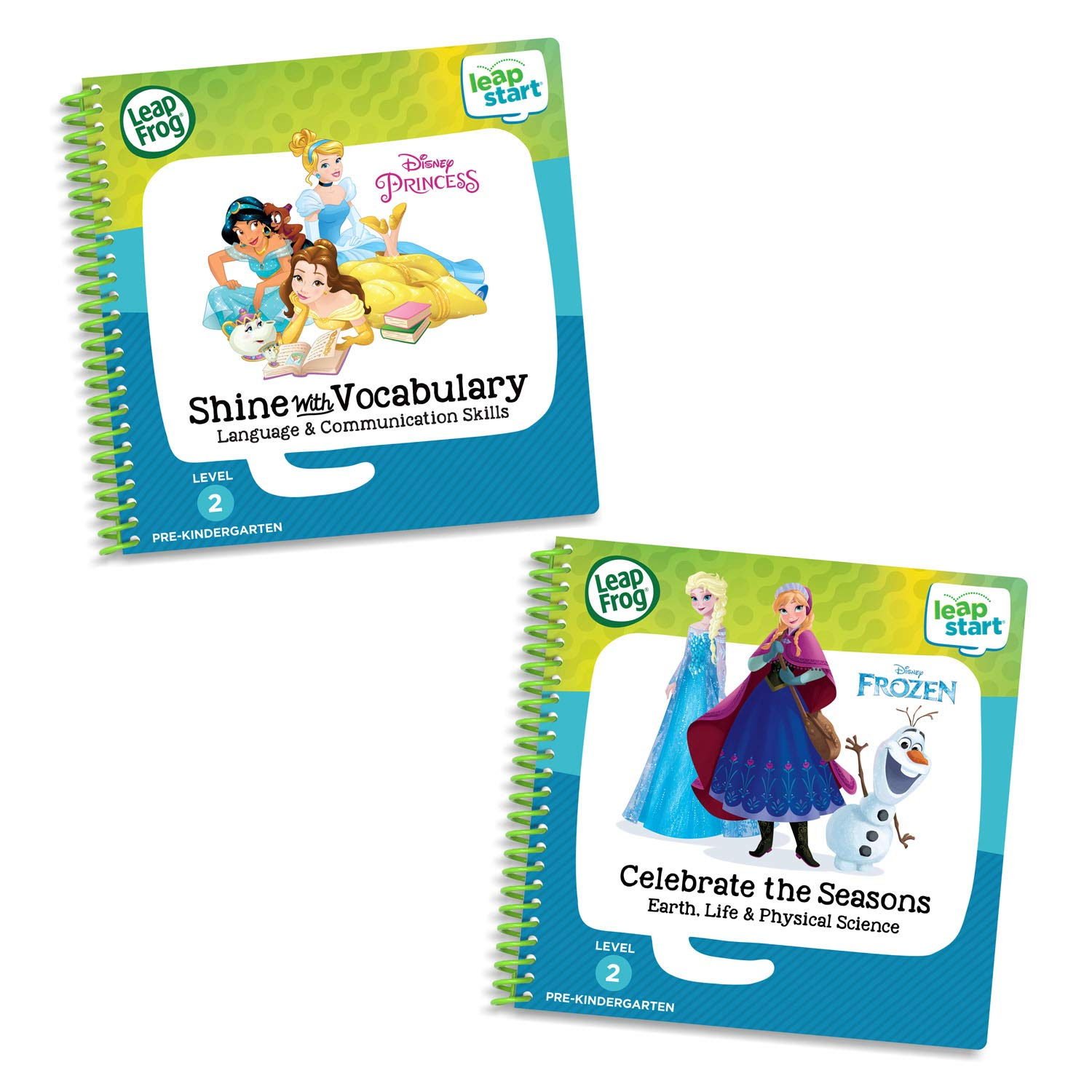 LeapFrog LeapStart 2 Book Combo Pack: Shine with Vocabulary and Celebrate The Seasons by LeapFrog