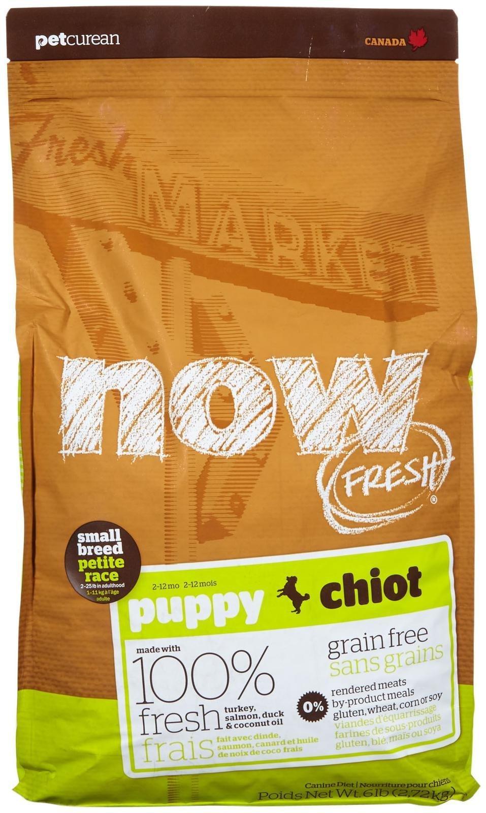 Now Fresh Grain Free Small Breed Puppy Recipe - 6lb