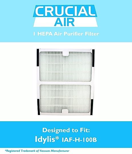 idylis b hepa air purifier filter fits idylis air purifiers iap10125