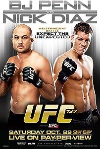 Pyramid America Official UFC 137 BJ Penn vs Nick Diaz Sports Cool Wall Decor Art Print Poster 12x18