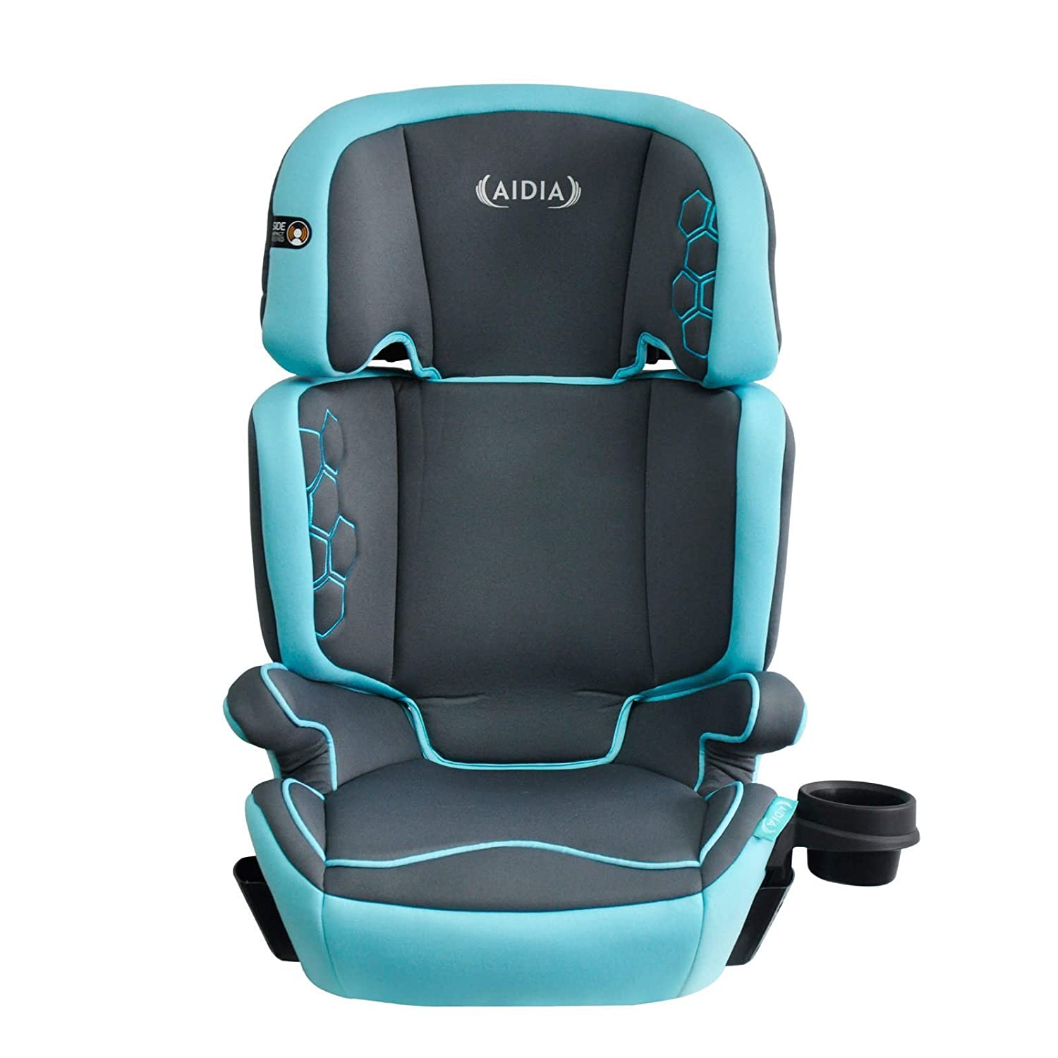 Aidia Explorer 2-in-1 Safety Booster Car Seat, Grey/Blue AD01/Endeavour