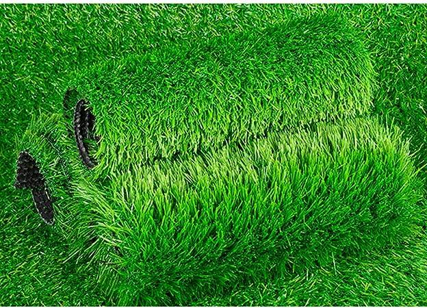 no t/óxico Resistente a la decoloraci/ón F/ácil Cuidado Verakee Bien Tejido s/úper c/ésped de Hierba Artificial Alfombra Interior//Exterior Alfombra de c/ésped sint/ético Respetuoso del Medio Ambiente