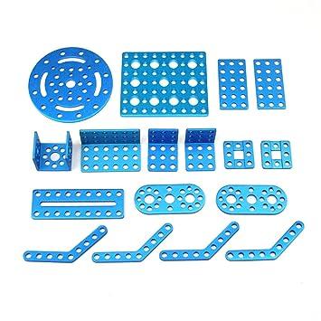 Amazon makeblock bracket robot pack blue parts for do it makeblock bracket robot pack blue parts for do it yourself robots solutioingenieria Images