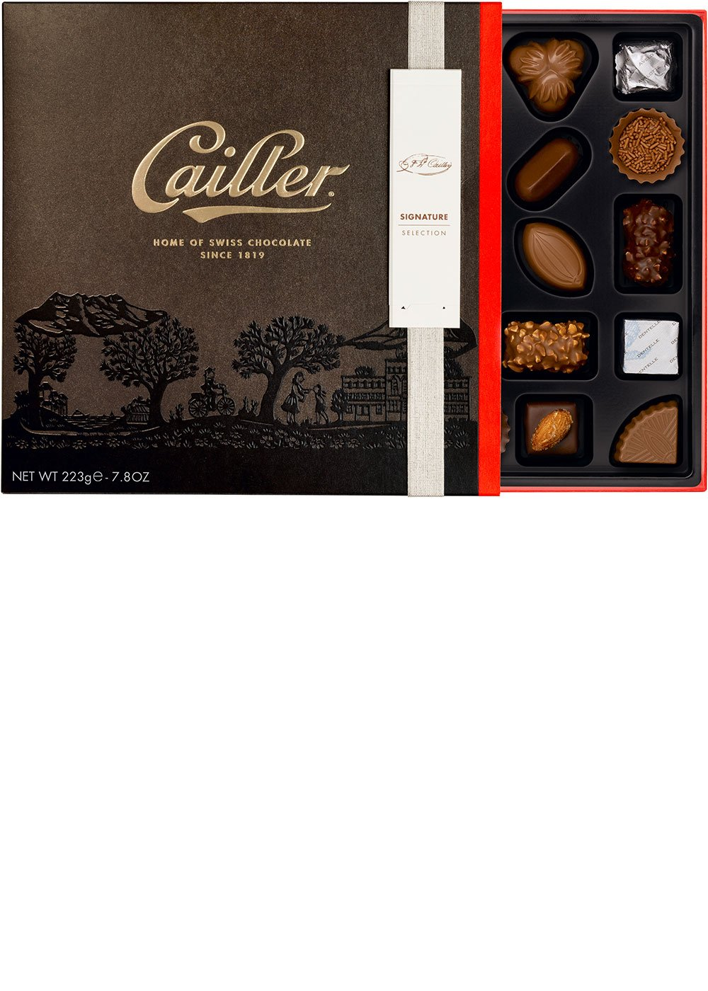 Amazon.com : CAILLER Chocolate Signature Selection, Large Box ...