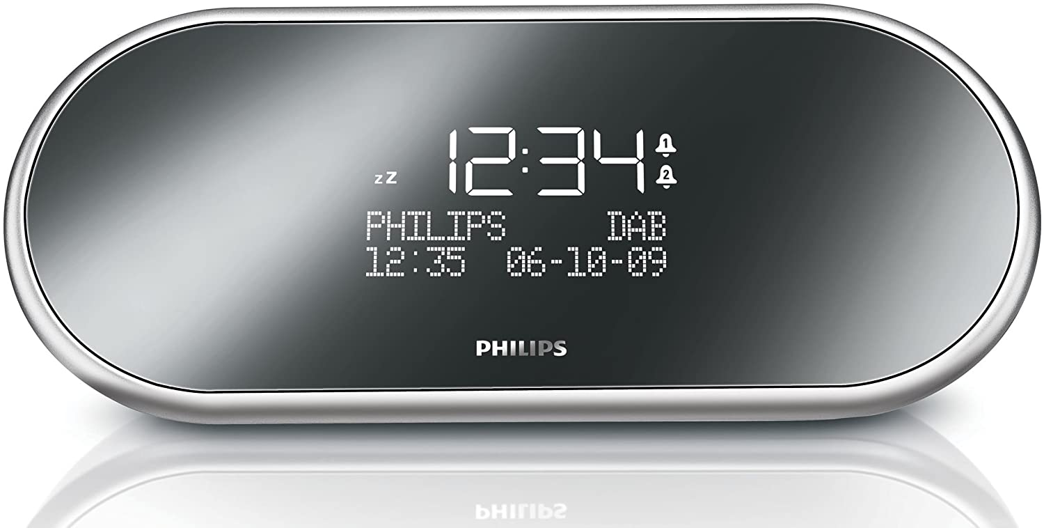 Philips AJB1002/05 - Radio (Reloj, Dab,FM, LCD, 50/60 Hz, 207 mm, 88 mm): Amazon.es: Electrónica