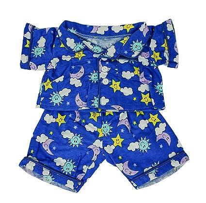 Amazon Com Flannel Pj S Clothes Outfit Fit 14 18 Build A Bear