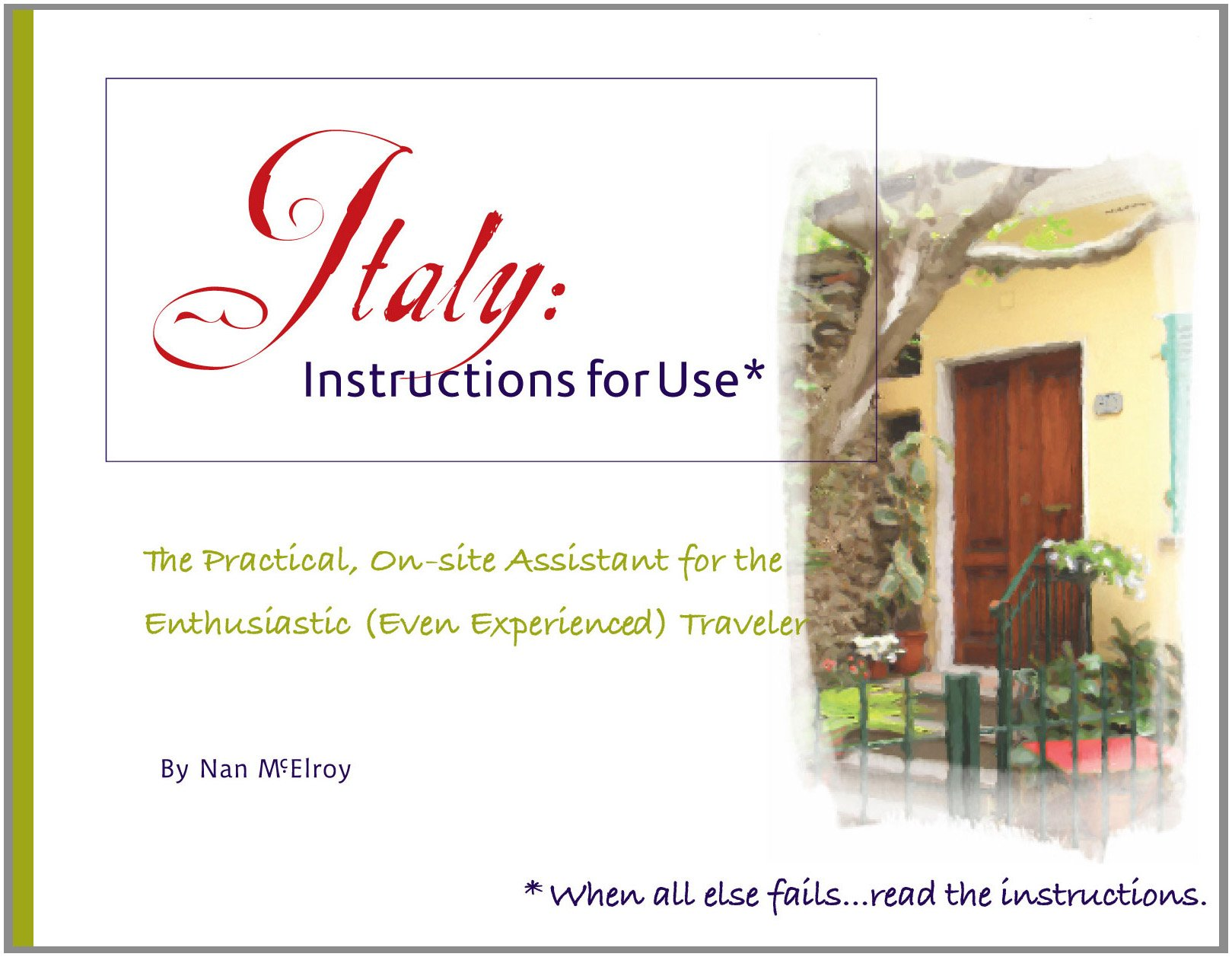 Italy Instructions For Use The Practical On Site Assistant For