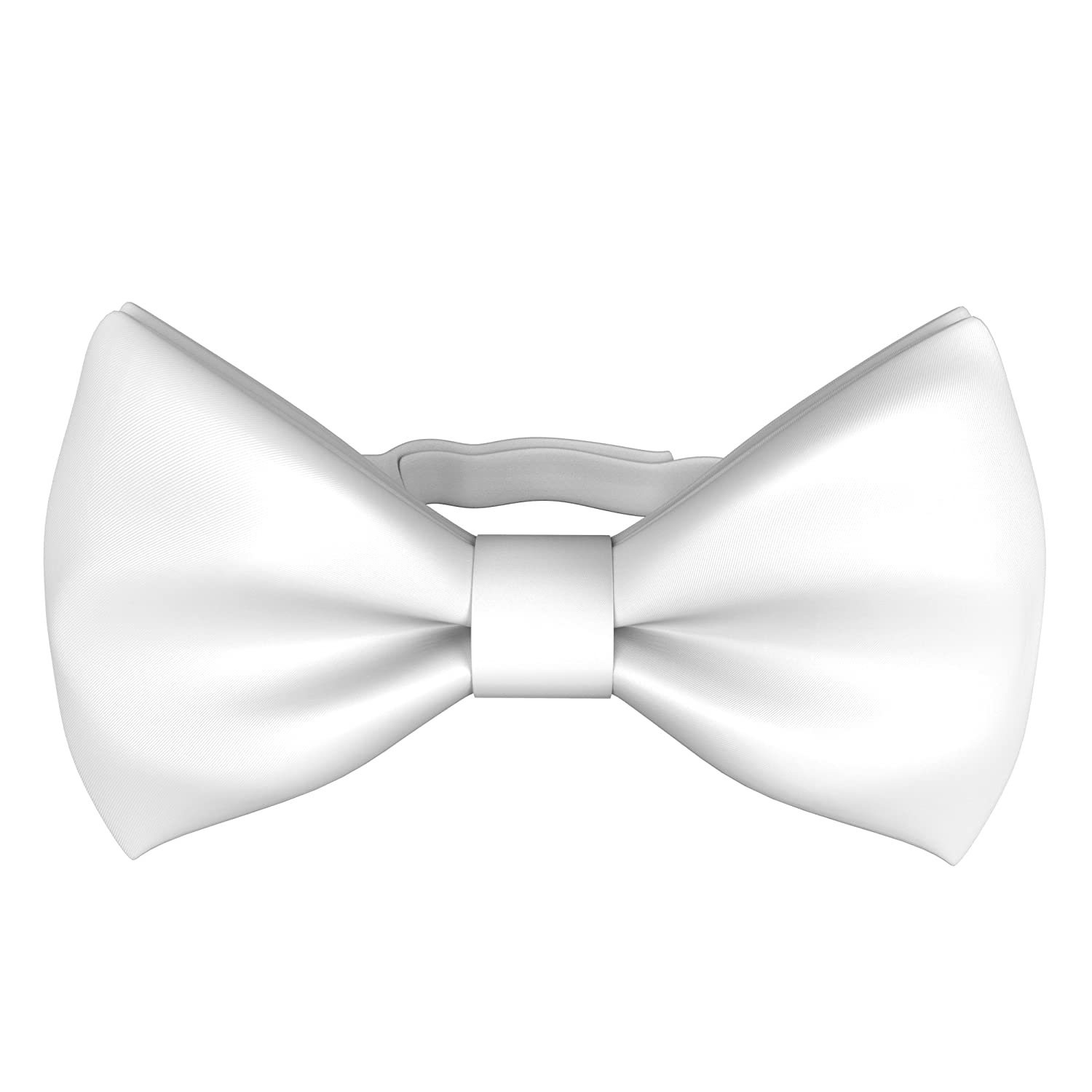 Fly & Dapper Handmade Formal Pre-Tied Tuxedo Bow Tie for Men - Adjustable Bowtie