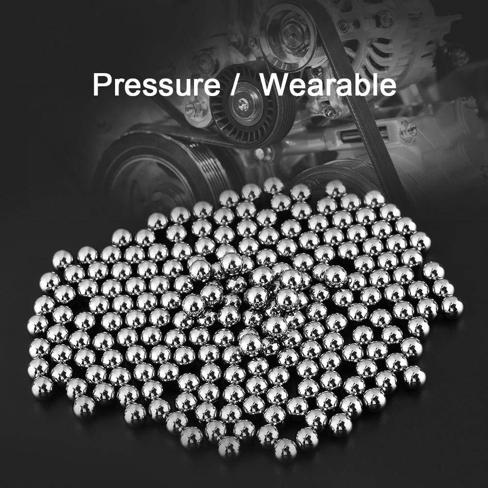 Billes en acier industrielles de roulement de pr/écision G10 6.35mm 1//4 de pouce de diam/ètre 200pcs