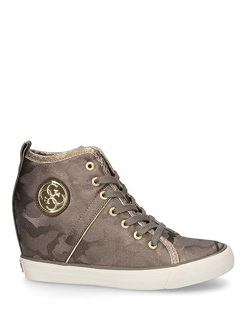 Cuña Guess Militar Sneakers Interna Jillyverde 41Amazon es 67gfYby