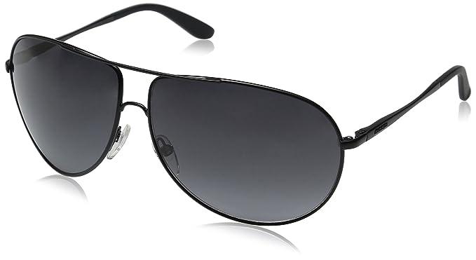9817e03102 Carrera New Gipsy/S Aviator Sunglasses, Matte Black/Gray Gradient, 64 mm