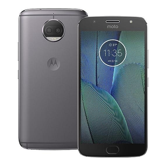 Motorola Moto G5S Plus (XT1803) 3GB / 32GB 5 5-inches Single SIM Factory  Unlocked - International Stock No Warranty (Lunar Gray)
