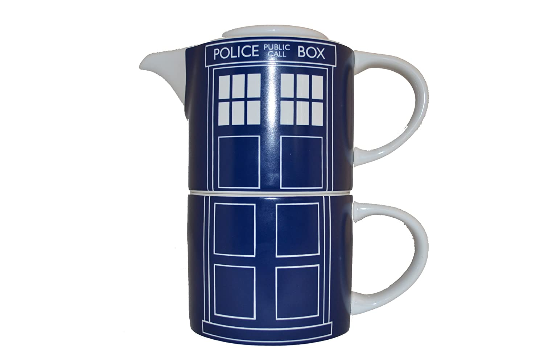 DOCTOR WHO Tardis Door Panel Tea for One BBC DWHW13144