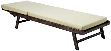 Best Selling Waveland Adjustable Chaise Lounge with Cushion