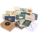 Assorted Greeting Cards – 36-Pack All Occasion Cards, Blank Cards Box Set, Note Cards includes Happy Birthday, Congratulations, Sympathy, Hello, Thank You Cards, Envelopes Included, 4 x 6 Inches