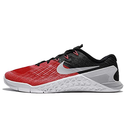 best website bb107 ebed6 Nike Mens Metcon 3 University Red Black White Wolf Grey 852928-600 (12)   Buy Online at Low Prices in India - Amazon.in