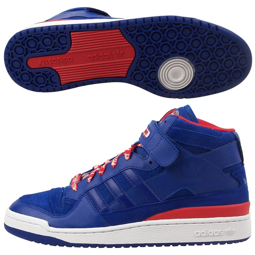 new arrival 990a0 c7240 Amazon.com  adidas Select Mens Forum Mid (Pistons) Sneaker  Fashion  Sneakers