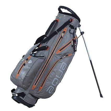 Aqua BigMax iDry 7 Bolsa para Palos de Golf Taupe/Arancione ...