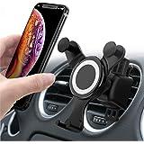 Smartmago 車載ホルダー スマホホルダー 伸縮アーム クリップ式&吹き出し口 360度回転可能 多機種対応