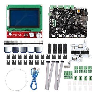 Wendry Kit de Pantalla LCD para Impresora 3D, Accesorios de ...