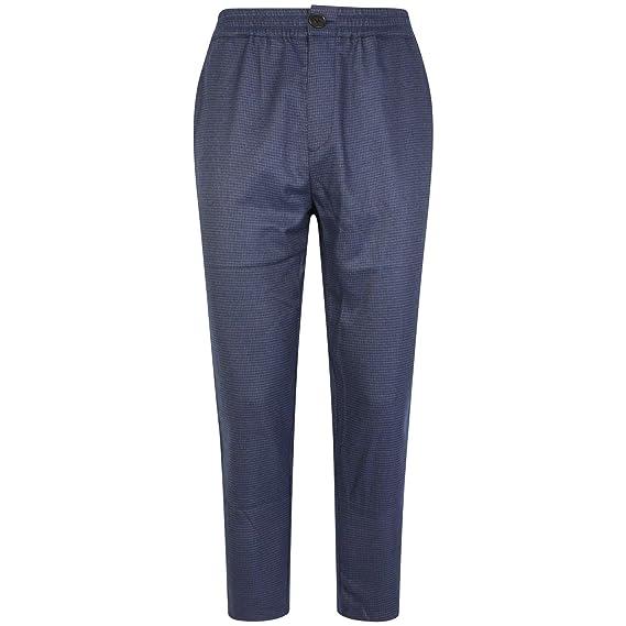 GAëLLE PARIS - Pantalón de chándal Azul a Cuadros: Amazon.es: Ropa ...