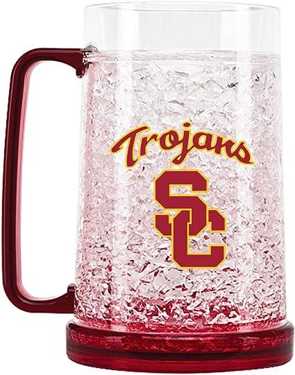 NCAA USC Trojans Glitter Travel Tumbler 20-Ounce
