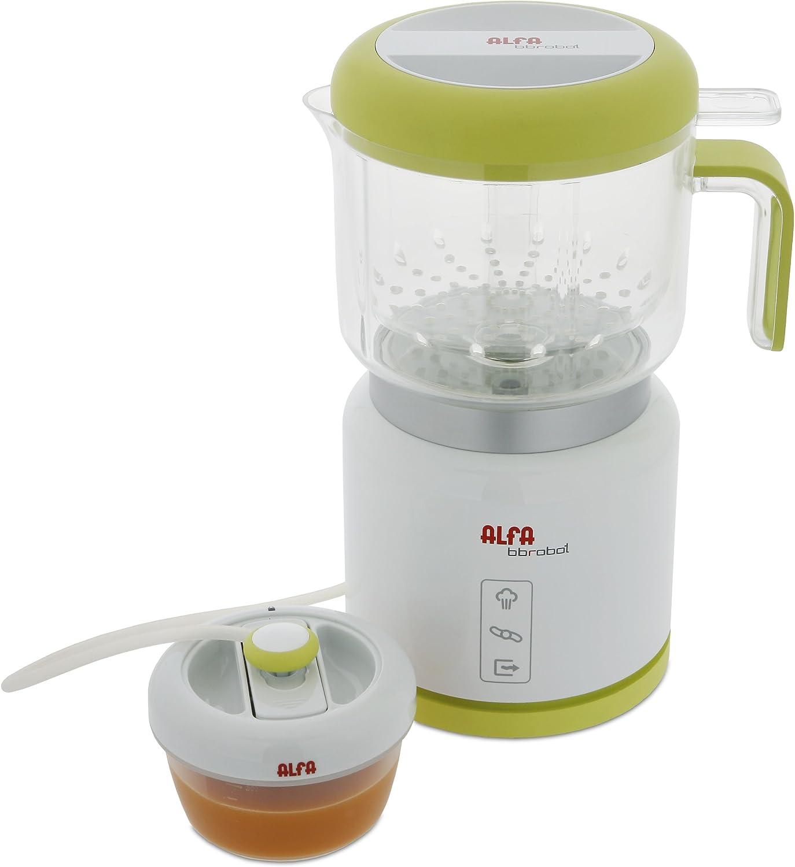 Alfa BB Robot Cocina 7950 Bbrobot,Esteriliza, Color blanco: Amazon ...