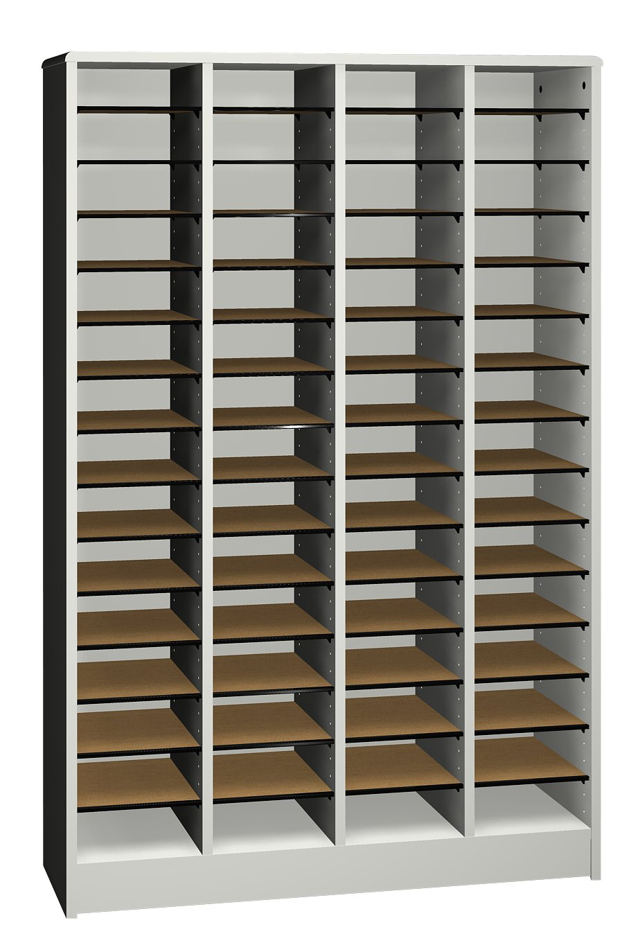 Ironwood Literature Organizer with 60 Compartment, Grey (LO60GG)