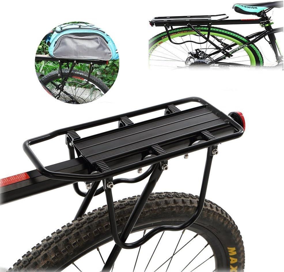 Meharbour Soporte para Bicicleta Trasera, Universal, Ajustable ...
