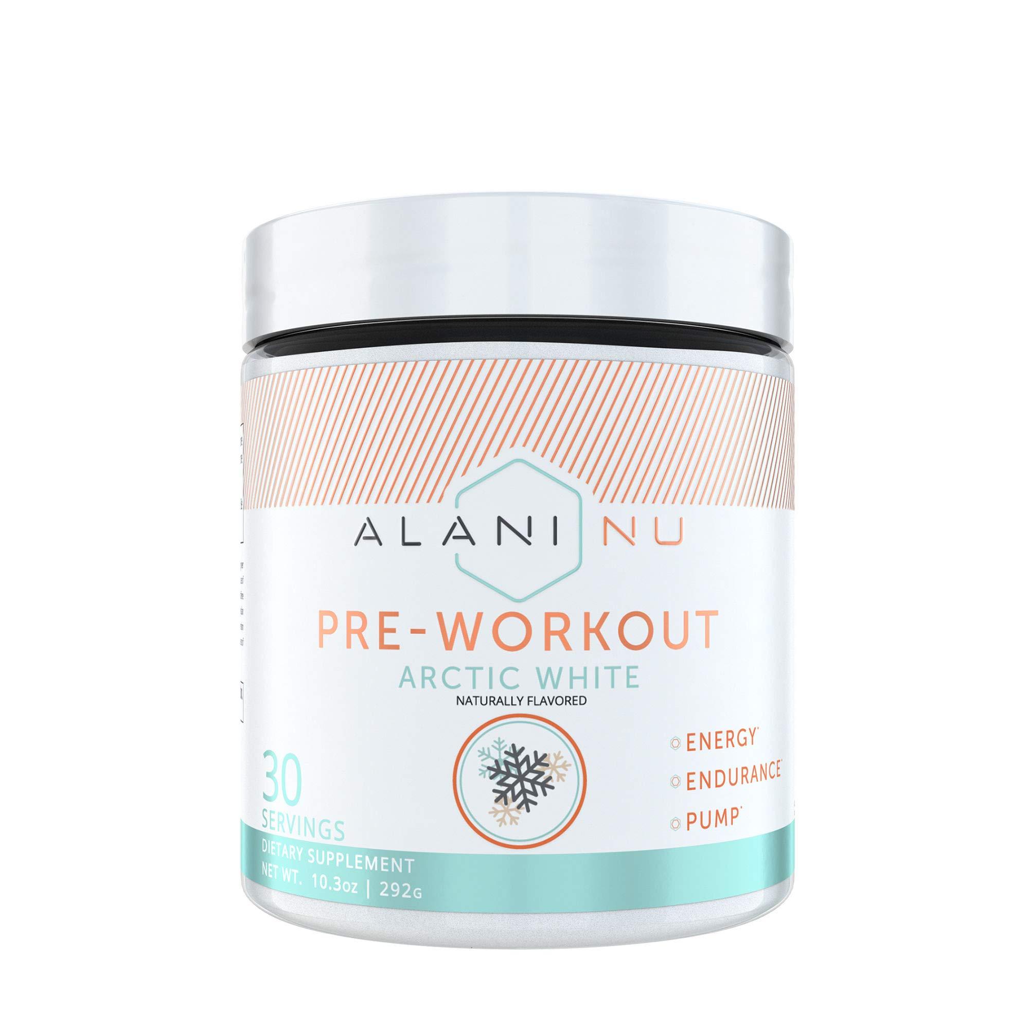 Alani Nu Pre-Workout - Arctic White by Alani Nu