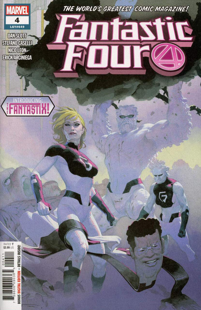 Fantastic Four (2018) #4 (#649) VF/NM Esad Ribic Cover