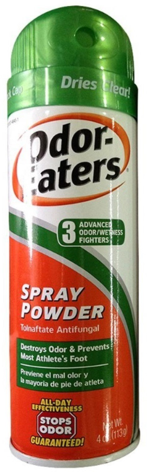 Odor Eaters Spray Powder 4 Ounce (6 Pack) by Odor-Eaters