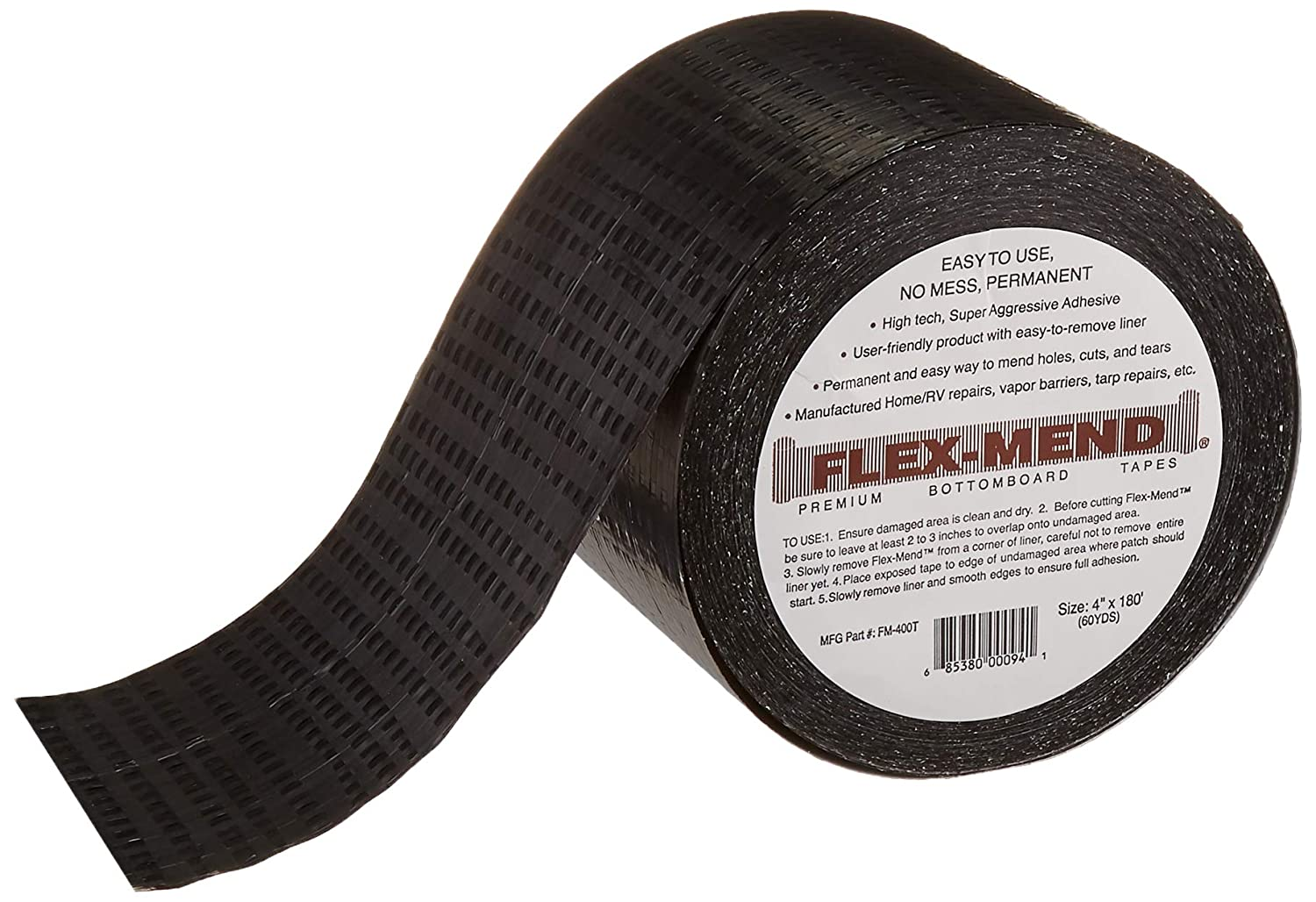 "Flex Mend FM-400T Belly Pan Repair Bottom Board Repair Tape, 4"" x 180'"