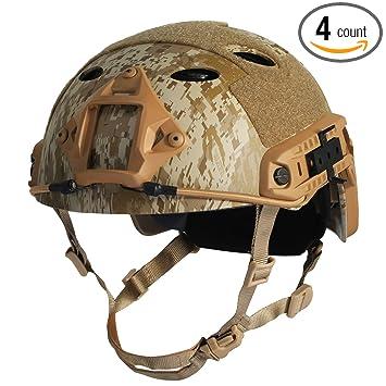 Amazon.com: HYOUT - Casco táctico militar para deportes al ...