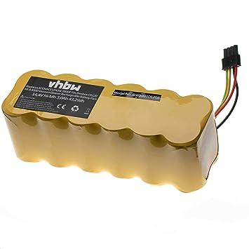 vhbw Batería Ni-MH 2000mAh (14.4V) para robot aspidador doméstico Profimaster Robot 2712 como LP43SC2000P.