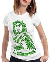 style3 Women's Plain Short Sleeve T-Shirt White white